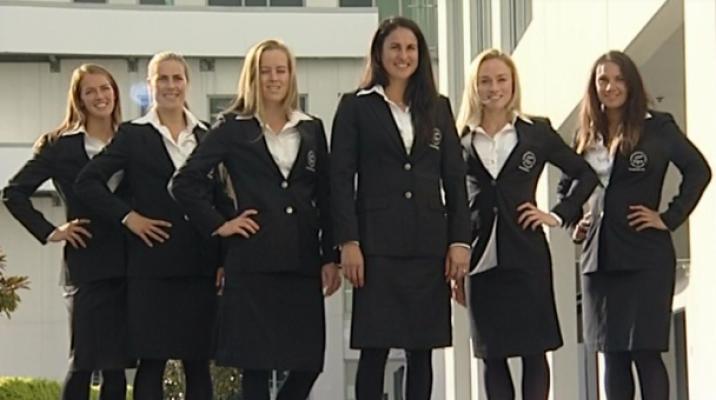 NZ Black Sticks Women's Hockey team