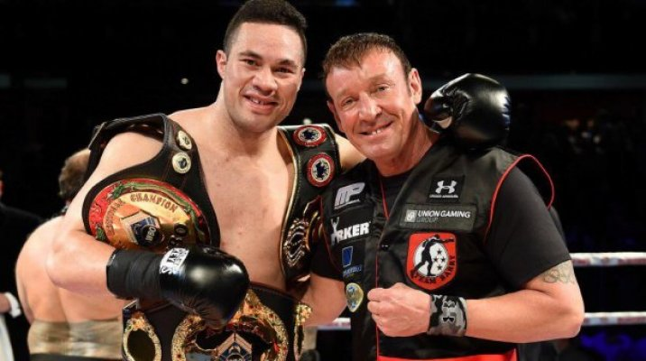 Joseph Parker & Kevin Barry - Photo / Kevin Barry