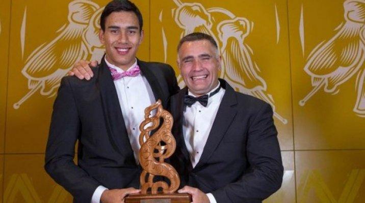 Joint winners of the Albie Pryor Memorial award - Tai & Jason Wynyard - Photo / MSA Vince Heperi