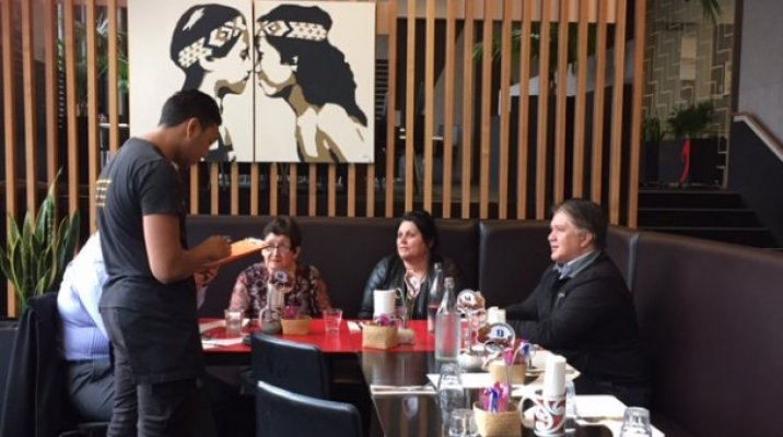 A reo Māori cafe, Wharewaka in Wellington - Photo / file