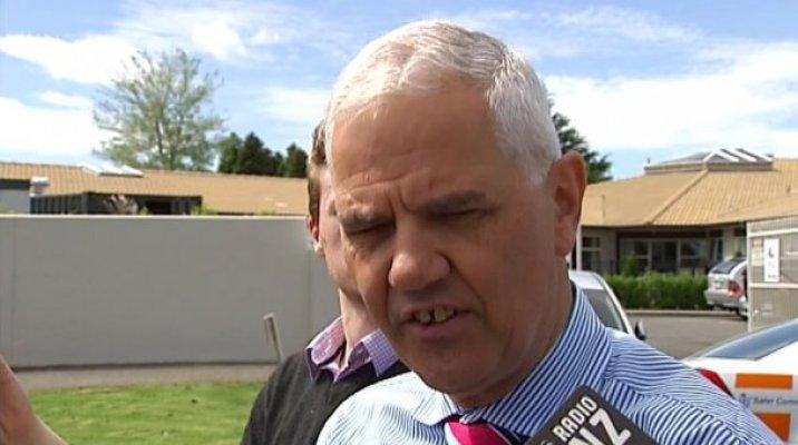 Waitematā district commander, Superintendent Bill Searle - Photo / TV3