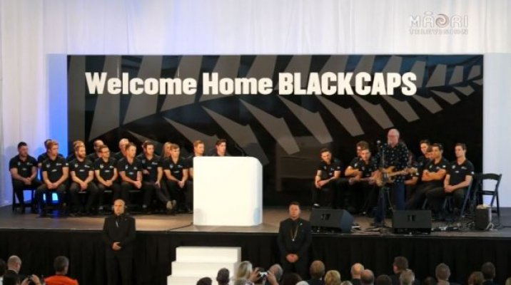 Welcome home Black Caps - Photo / file