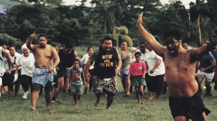 Bluesky promotional video of Manu Samoa vs All Blacks match