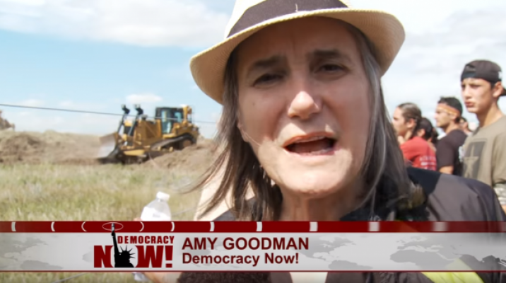 Image sourced from Democracy Now report filed by Amy Goodman