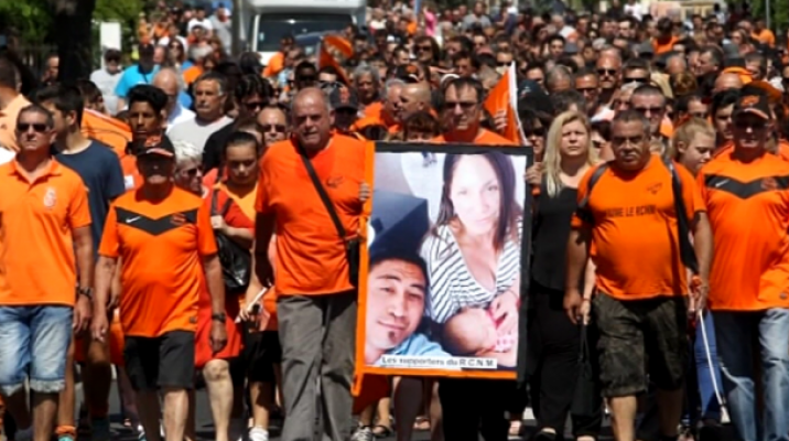 Fans in France walk in memory of Jerry Collins - Photo / supplied