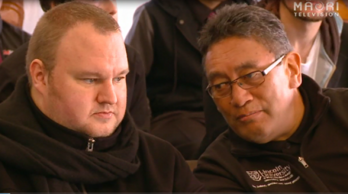 Kim Dot Com and Hone Harawira, Internet-MANA