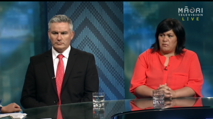 Labour MPs - Kelvin Davis & Nanaia Mahuta