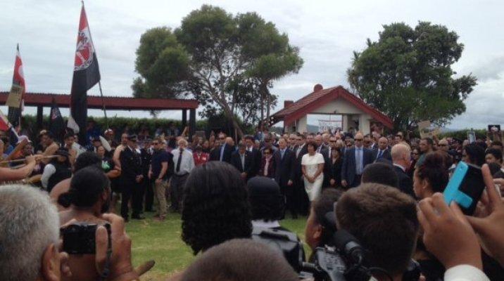 Waitangi Pōhiri for PM