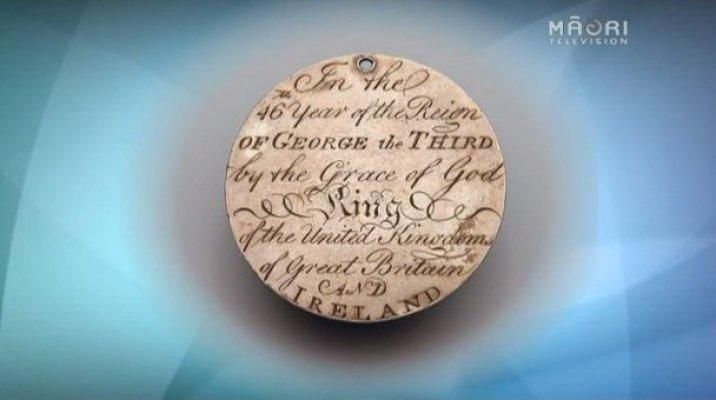 Te Pahi's medal
