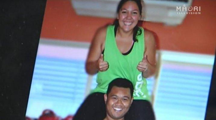 Bridal bootcampers Roimata Stanley-Kaweroa and Daniel Ah Sam
