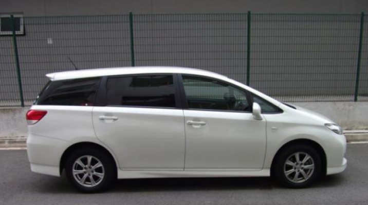 Witnesses who may have seen the white Toyota Wish motor vehicle, similar to the one pictured, between 5pm and 6.15pm within Ngaruawahia township Friday evening should contact Police.