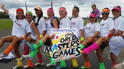Bulletz at World Masters Games  - Photo/Supplied