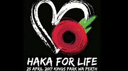 Haka For Life event - Photo / supplied