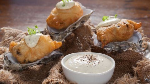 Beer Battered Oysters & Horopito Aioli