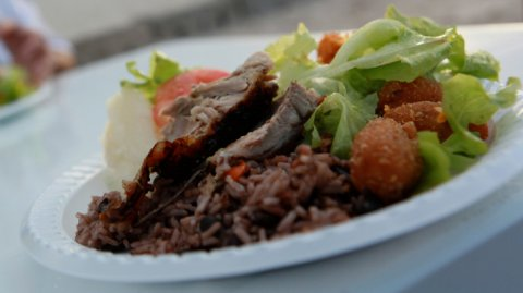 A Cuban feast on a plate