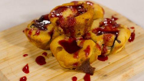 Chilli Chocolate Muffins - Whānau Bake Off