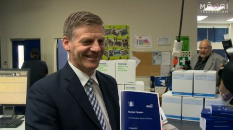 Bill English presents 2015 Budget - Photo / file