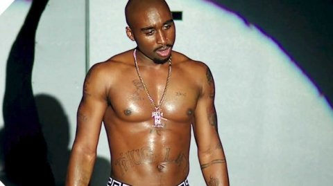 Demitrius Shipp Jnr as Tupac Shakur - Image / You Tube trailer