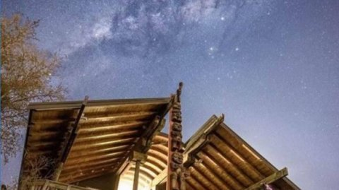 Arataki under the stars - Photo / Arataki Visitor Centre