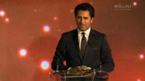 Inaugural Supreme Matariki Award winner, Cliff Curtis - Photo / File