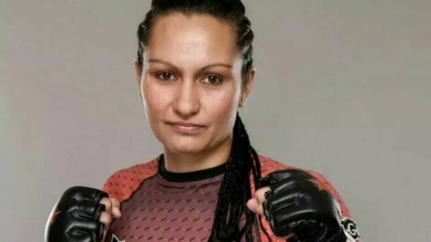 Te Arawa MMA fighter, Faith 'The Immortal' Van Duin - Photo / Invictus FC