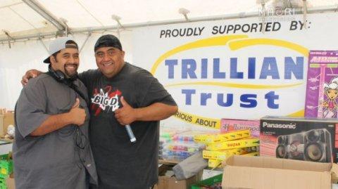 Brothers Doug (Big D) & Wiremu (DJ Wiz) Te Moni - Funfest Auckland