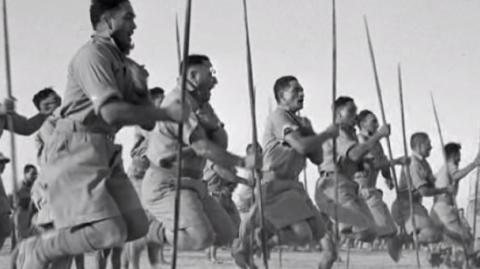28th Māori Battalion - Photo / Archives NZ