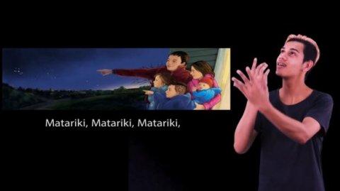 Te Reo Singalong NZSL Matariki video ft Tuhoi Henry
