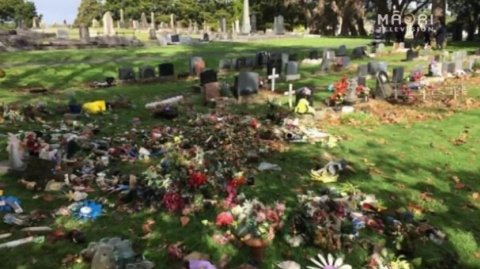 Graves desecrated at Papakura South Cemetery - Photo / file