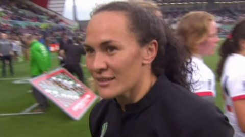 Portia Woodman, Black Ferns