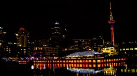 Auckland lights to mark Matariki