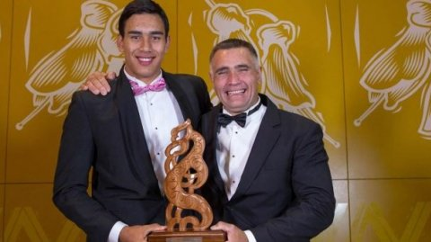 Joint winners of the Albie Pryor Memorial award - Tai & Jason Wynyard - Photo / MSA Vince Heperi