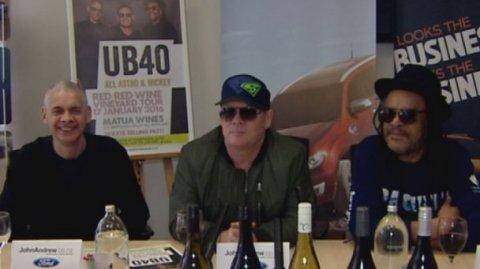UB40 ft Ali, Astro & Mickey in NZ - Photo / file