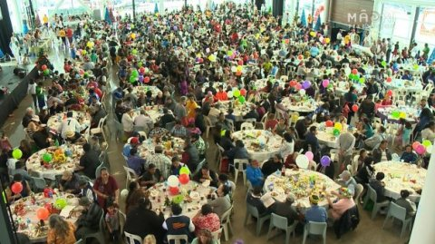 Auckland City Mission Xmas lunch caters for 2000
