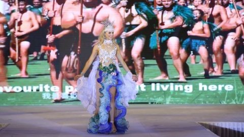Jessica Tyson at Miss Global City - Photo / Supplied