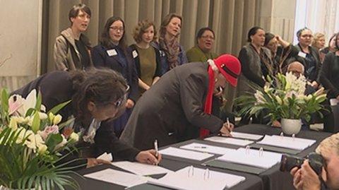Maniapoto AIP signing - Photo / File