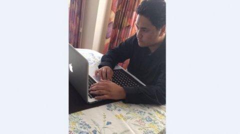 Manukura student Phillip Ratima.