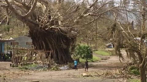Damage in Vanuatu following of Cyclone Pam