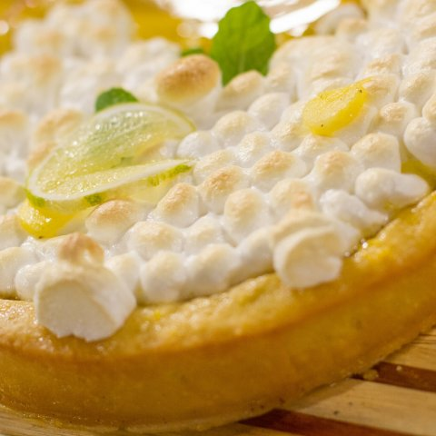 Aarons baked Pineapple Pie