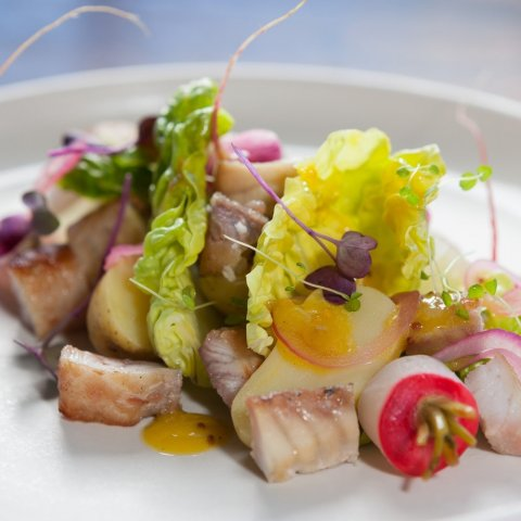 Smoked Eel Salad
