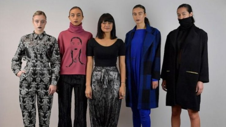 Misty Ratima & models, Miromoda Fashion Design Competition - Photo / Supplied