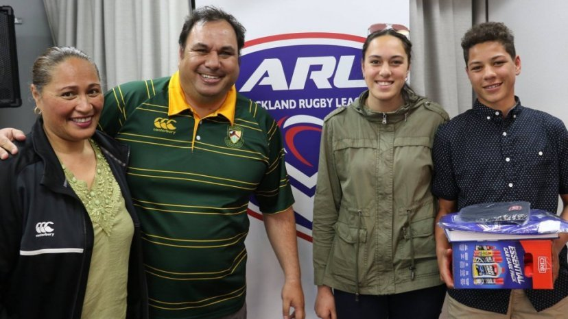 """Marist """"Volunteers of the Year"""" - Photo / Auckland Rugby League"""