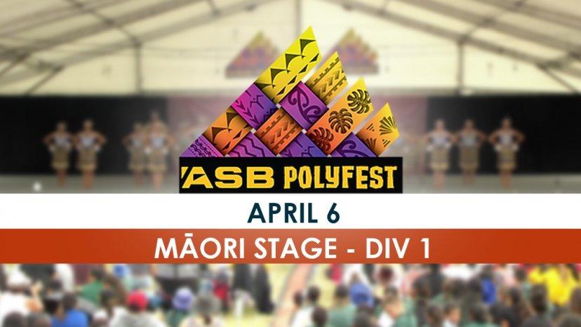Polyfest Māori Stage Div 1 performers set to stand | Māori