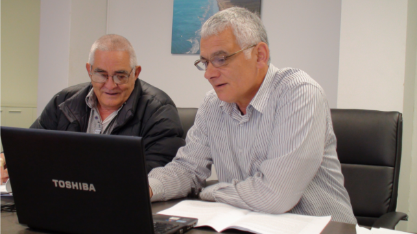 Evan Nathan & Mike Stevens - Photo / Te Aupouri Māori Trust Board