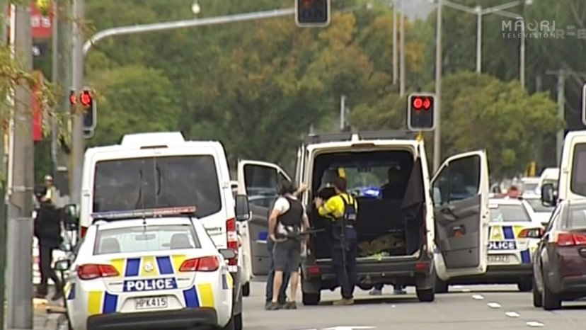 Shooting In Christchurch Picture: Christchurch Shooting: Charged Man Named