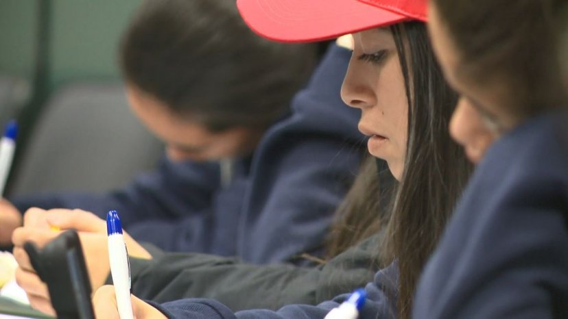 Students in tears over maths exam