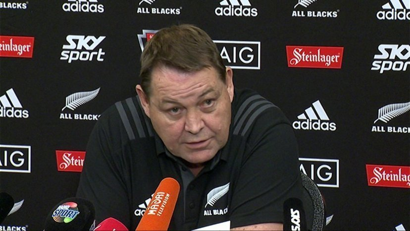 Schmidt number one target for All Blacks
